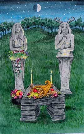 Harvest festival pagan holiday