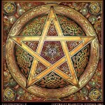 What is wicca - pentacle