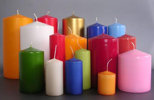 Candle magick which colours wiccan spells for Candele colorate