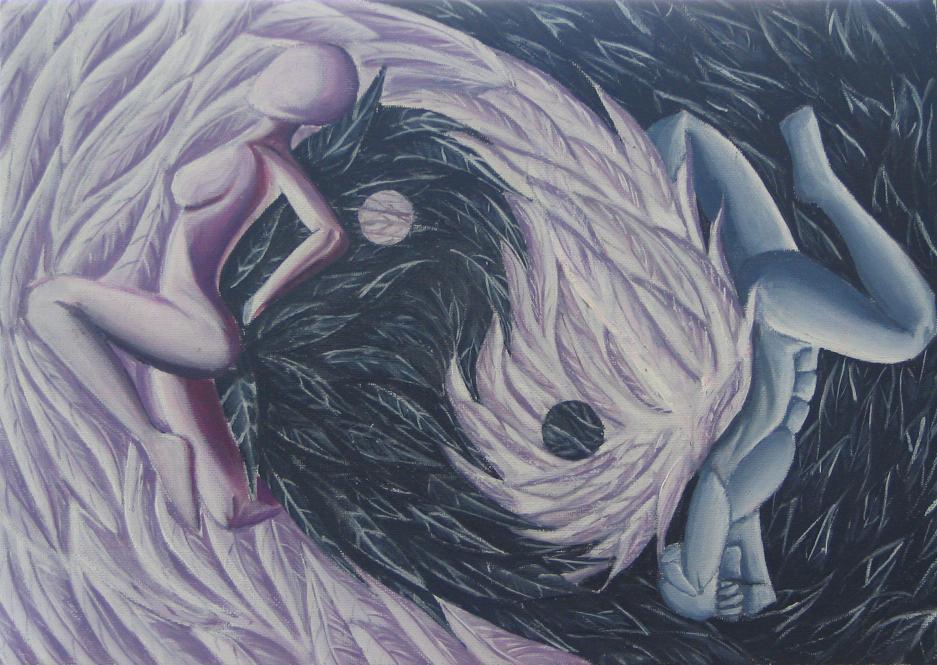 """""""Yin Yang"""" by Jaquesmehawf"""