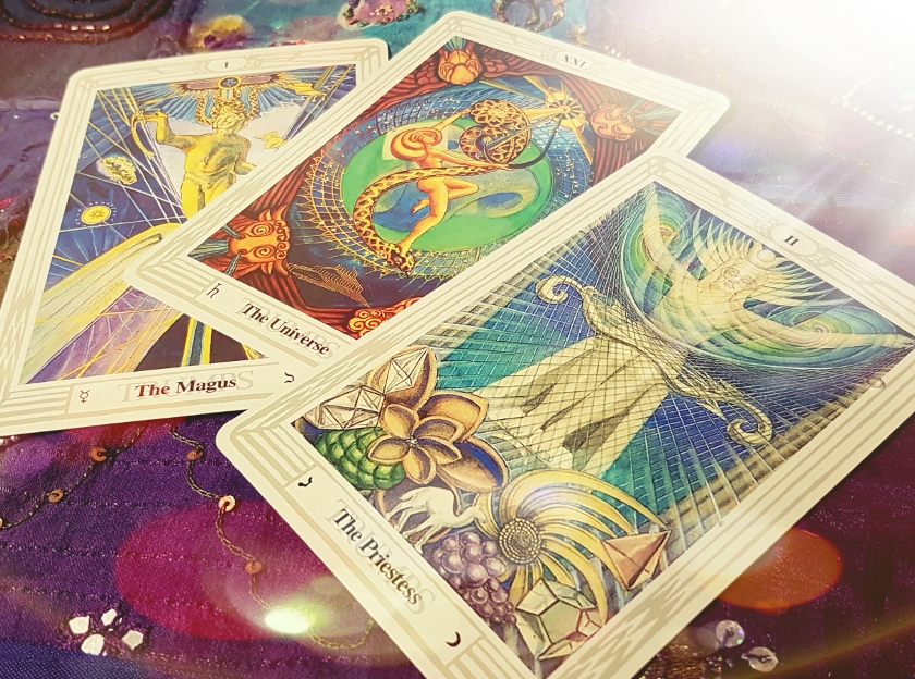 tarot cards in wicca, spells and magick