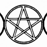 wiccan symbol triple moon