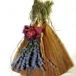 wiccan altar ideas - broom
