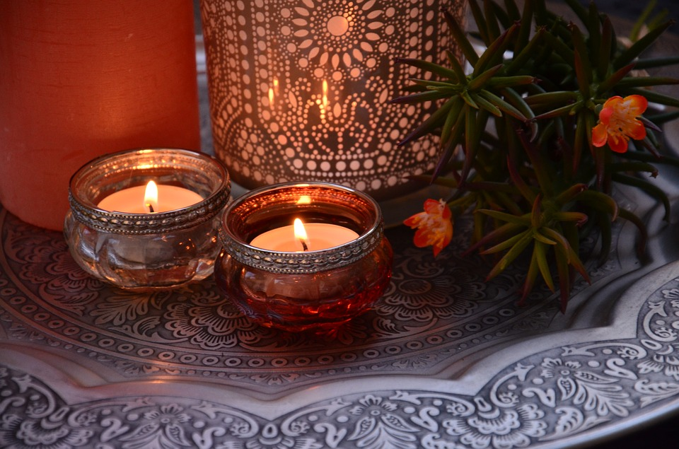 wiccan altar ideas - candles