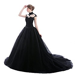 Duchess of Shadows Pagan Wedding Dress