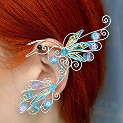 Fairy earcuffs Pagan Wedding Dress