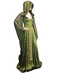 Drawing Medieval Wedding Dresses