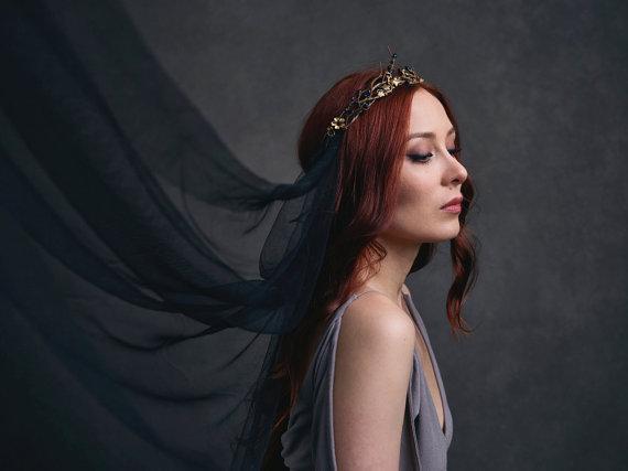 Gothic pagan wedding - BellaFaye8