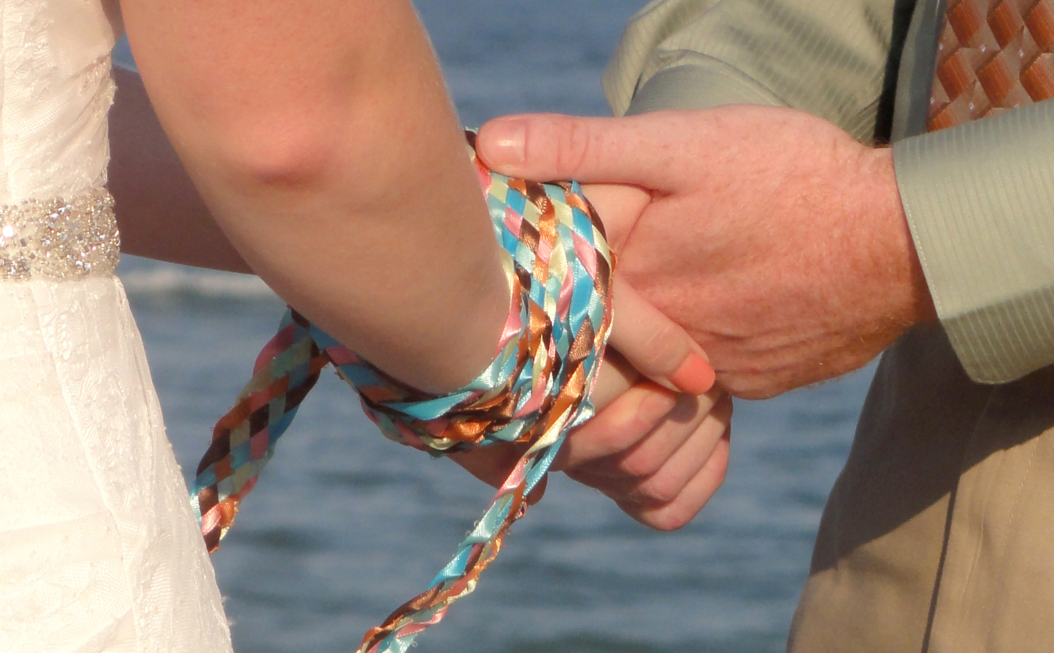 Handfasting cords - pagan wedding