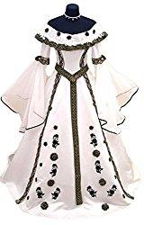 Royal Sorceress Pagan Wedding Dress