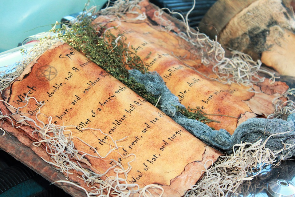 book of shadows wiccan spell supplies