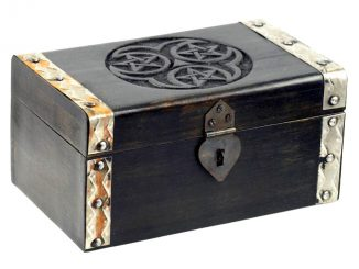 pentagram treasure chest
