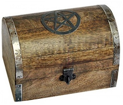 Prosperity Spell - The Treasure Chest - Wiccan Spells