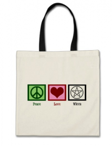 wiccan tote gift