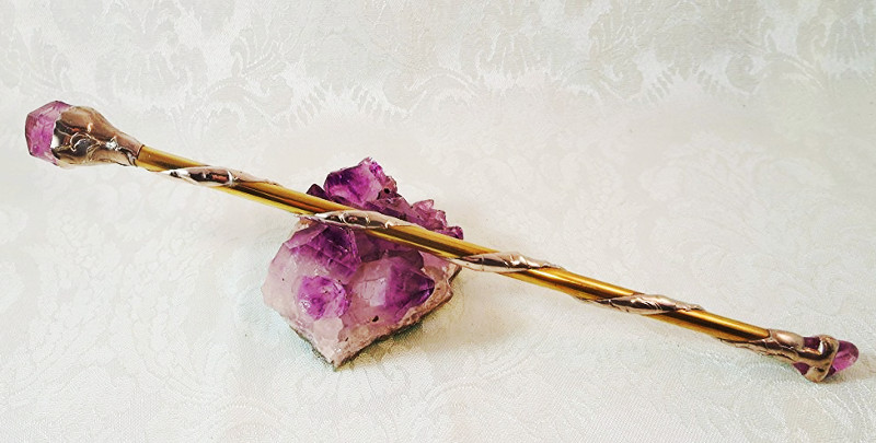 wiccan wand - dragon star creations