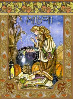 mabon greeting card