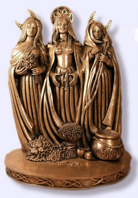 gift for witch - triple goddess