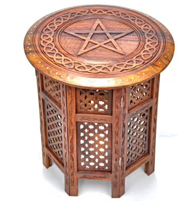 magickal home - altar table