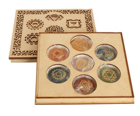 spiritual gift - chakra stone set