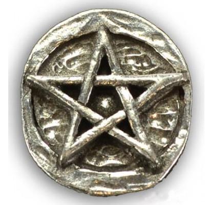 wiccan gift - pentagram pocket charm