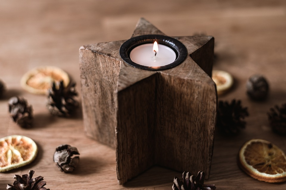 Candles for Wiccan spells and magick