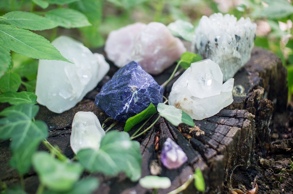 Crystals for spells, wicca and magick