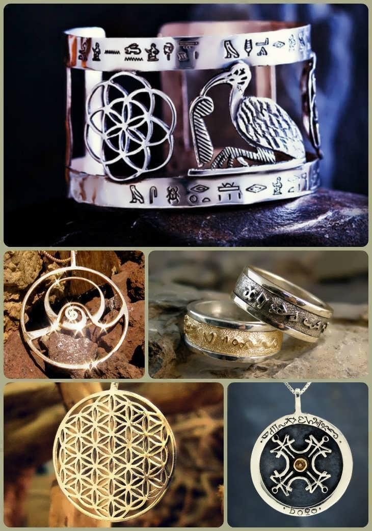 ka gold talismans and amulets