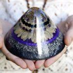 orgonite cone healing